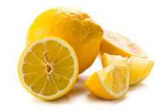 Fresh lemons Stock Photography
