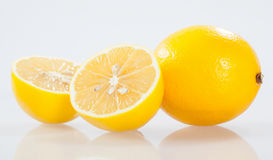 Fresh lemons Stock Images