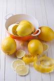 Fresh lemons Royalty Free Stock Images