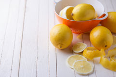 Fresh lemons Royalty Free Stock Image