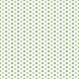 Fresh light and dark green vertical rows of squares in brick repeat design. Seamless geometric vector pattern on white. Background. Great for wellness stock illustration