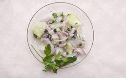 A fresh and light salad Stock Photos