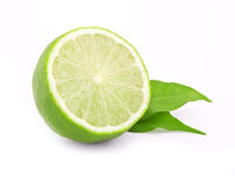 Fresh lime royalty free stock photos