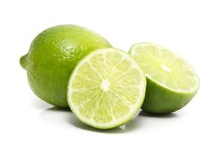 Fresh lime Royalty Free Stock Image