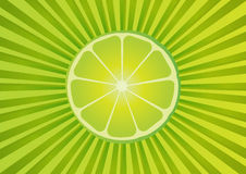 Fresh lime background stock images
