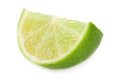 Fresh lime chunk Stock Photos