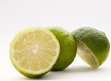 Fresh lime fruit Stock Image