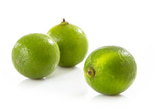 Fresh lime fruit Stock Photos