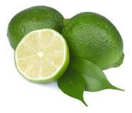 Fresh lime isolated Stock Photo