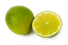 Fresh lime isolated Royalty Free Stock Photo