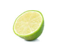 Fresh lime. Isolated on white Royalty Free Stock Photography
