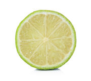 Fresh lime. Isolated on white Stock Images