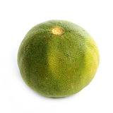 Fresh lime. A fresh lime isolated on a white background Royalty Free Stock Images