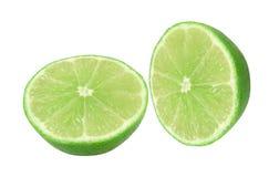 Fresh lime isolated. On white background Stock Images