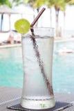 Fresh lime juice Stock Photography