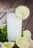 Fresh Lime Juice Royalty Free Stock Images