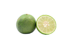 Fresh lime. S isolated on a white background stock image