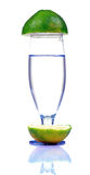 Fresh lime water Stock Photography