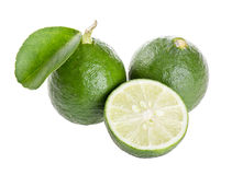 Fresh limes Royalty Free Stock Image