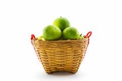 Fresh limes. Stock Photo