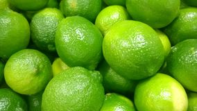 Fresh Limes Stock Image