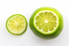 Fresh limes. Royalty Free Stock Photo