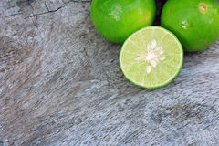 Fresh limes Stock Photography