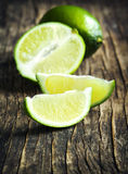Fresh limes. Royalty Free Stock Image