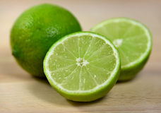 Fresh limes Royalty Free Stock Photo