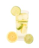 Fresh limonade with lime and lemon Stock Images