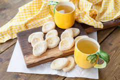 Fresh limonaie with powdered sugar Royalty Free Stock Image