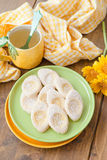 Fresh limonaie with powdered sugar Stock Photography