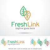 Fresh Link Logo Template Design Vector, Emblem, Design Concept, Creative Symbol, Icon Stock Photo