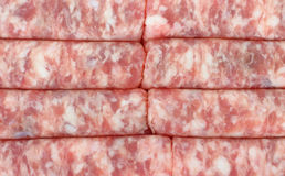Fresh Link Sausage Close View Stock Photos