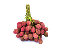 Fresh of litchi fruit Royalty Free Stock Images