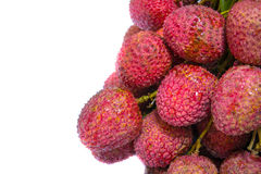 Fresh of litchi fruit Royalty Free Stock Photos