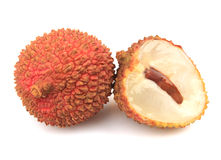 Fresh  Litchi Stock Photography