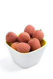 Fresh litchis Royalty Free Stock Photo