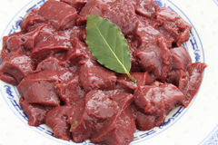 Fresh liver Stock Photo