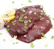 Fresh liver Stock Photography