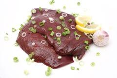 Fresh liver Royalty Free Stock Image