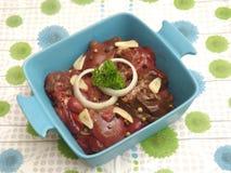 Fresh liver Stock Photo