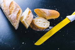 Fresh loaf bread Stock Image