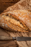 Fresh loaf of bread. Royalty Free Stock Photo