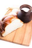 Fresh loaf of challah Royalty Free Stock Images