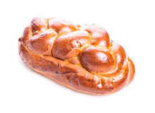 Fresh loaf of challah Stock Photo