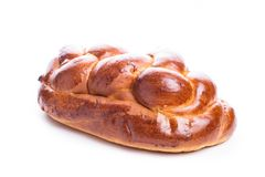Fresh loaf of challah Stock Images