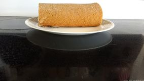 Fresh loaf Grandma's Plate Royalty Free Stock Image