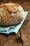 Fresh loaf of round bread Stock Photos