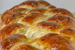 Fresh Loaf of sweet braided bread Stock Images